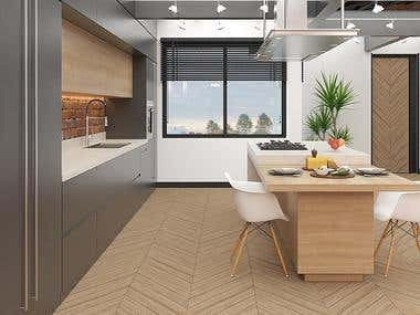 Loft Apartment Interior Design Project_Signapore