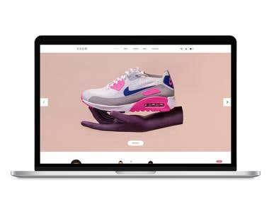 Web Design - Online Store E-Commerce