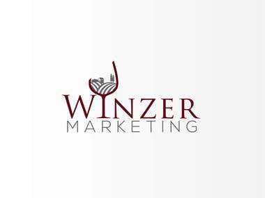 Logo design Winzermarketing - winery