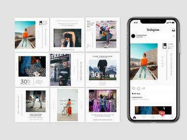 Instagram Posts / Banner