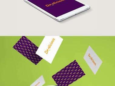 Deelicious Logo and branding