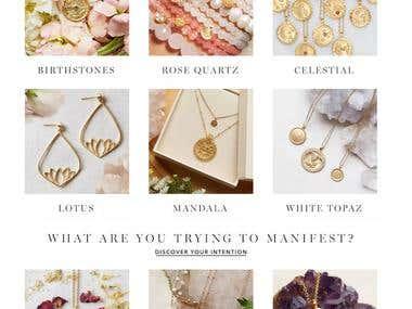 Online Jewellery Shopping Website