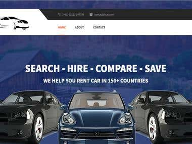 Car resale website