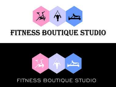 Logo for fitness studio