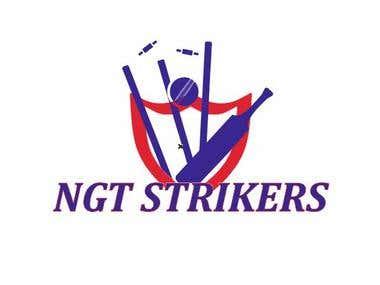 Logo for cricket tournament