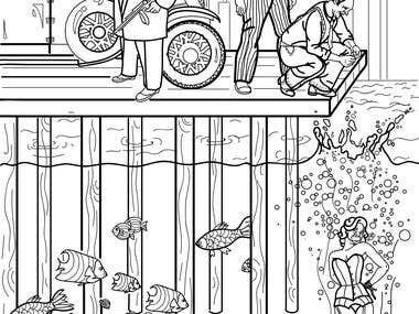 Freelance Book illustrator