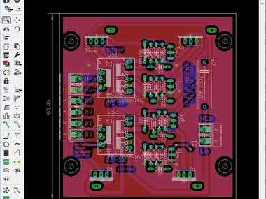 PCB Design (Samples ONLY for lab tests)