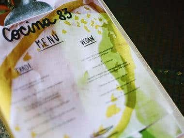 Visual identity / Cocina 83