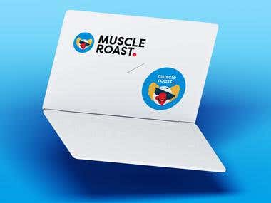 Muscle Roast Logo