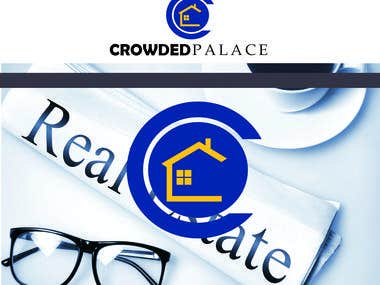 """CROWDED PALACE"" lOGO DESIGN"