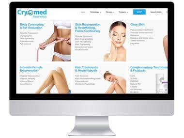 Cryomed Website