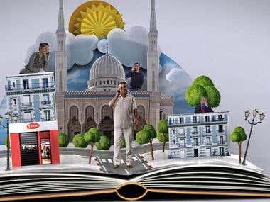 3D TV ADVERT - Djezzy - Story