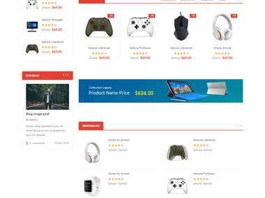 Laravel E commerce Site