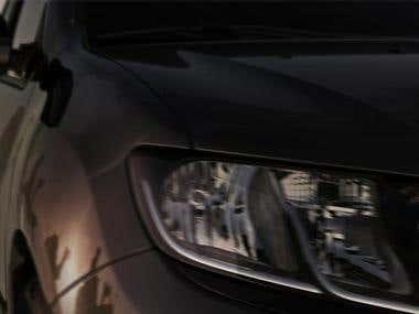 3D Tv Advert - Renault Symbol Car