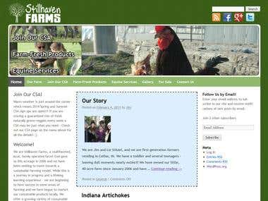 Stillhaven Farms Website