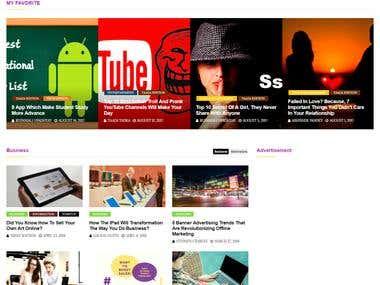 Blog website development And Digital Marketing