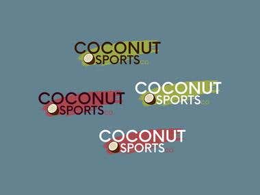 COCONUT Sports Logo Design