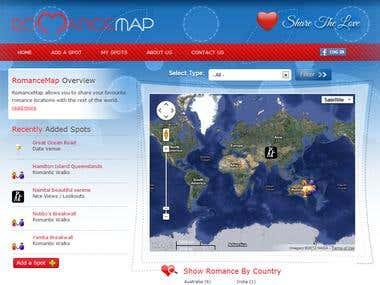 Romance Map