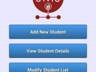 Student Management System in Android