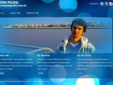 Deepak Poudel Web Works
