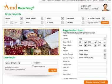 Dating Website in Drupal