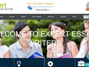 Expert Essays Writers | Custom Essay Writing Services