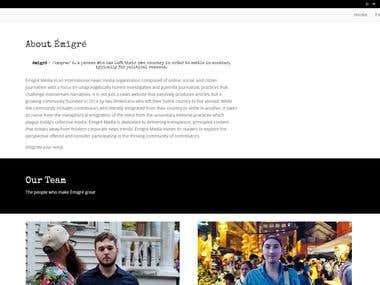 News & Media Website