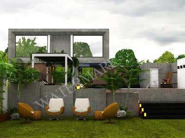 House Design Render