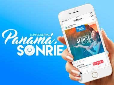 Social Media - Panamá Sonríe.