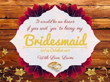 Bridal Team Invite