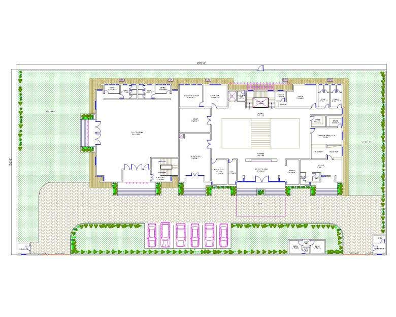 2D layout plan AutoCad Civil | Freelancer