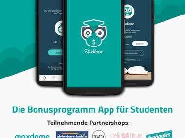 Poster Design - Studibon Mobile App