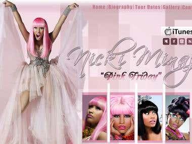 Nicki Minaj Fansite
