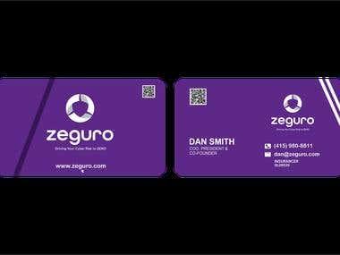 business card-zeguro
