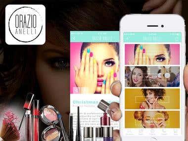 ORAZIO ANELLI (Beauty Salon App)