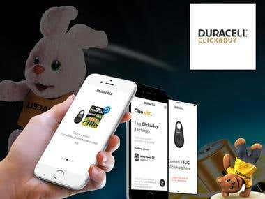 DURACELL Click & Buy
