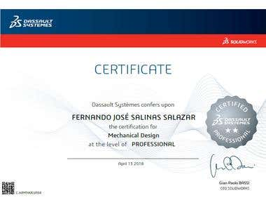 Professional Certification