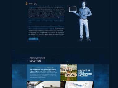 InsightCubes - Web Design