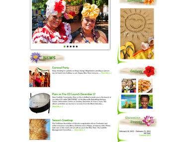 Caribbean Site Design