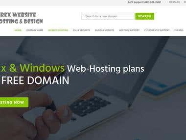 Website Developed