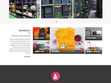 Delberto Club - Website Development