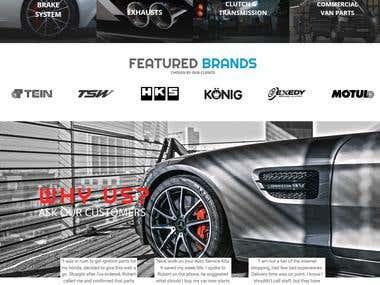 Web design / Complex Branding - AutoServiceKits.ie