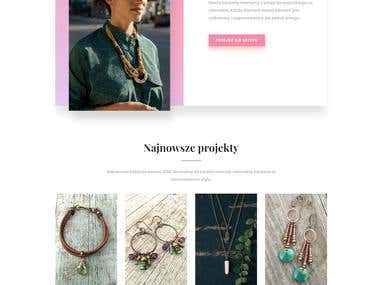 Web design / Complex Branding - KamienKsiezycowy.pl