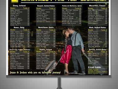 arriavl list banner