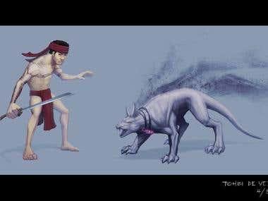 native warrior concept