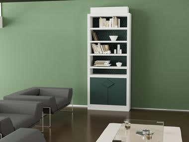 Development of bookcase