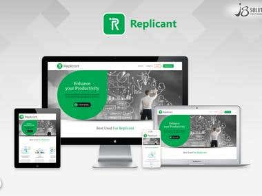 Website Development :- Replicant (.NET)