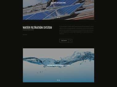 Web Design - Water Filtration Systems