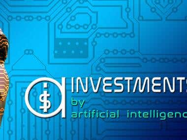 """Logo for """"AI-INVESTMENTS by Artificial Intelligence"""""""