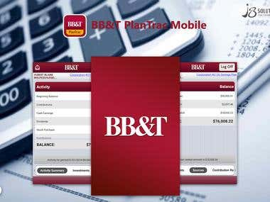 Android & iOS :- BB & T Plan Trac